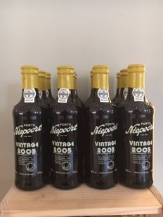 2005 Vintage Port Niepoort - 12 bottles (0.375l) in OWC