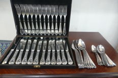 Cutlery LOUIS XV POLIDA MASSIF 47-pieces Solingen
