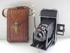 Agfa Billy Record photo camera with a Jgestar 100mm F/7.7 lens