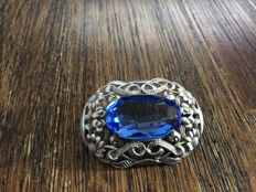 Old brooch from France 935 silver