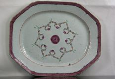 Large East India Company dish
