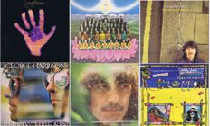 GEORGE HARRISON - Lot of 6 original LP's: Dark Horse(1974), Living In The Material World (1973), Somewhere in England (1981), Thirty Three & 1/3 (1976), George Harrison (1979), Gone Troppo (1982)
