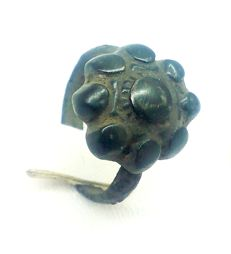 Early medieval bronze ring, the Viking period 17 mm