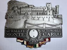 """63e Rallye Automobile Monte Carlo"" Badge - 1995"