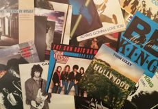 23 very nice singles Blues - Rock, some very hard to get.