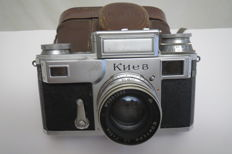 "The very first ""Kiev-2""-""Contax-3"". Made at the Carl Zeiss Jena factory. Germany 1949 (Rarely)"