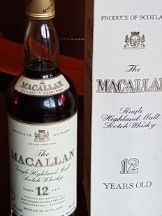 Macallan  12 years old - bottled 1980s - OB