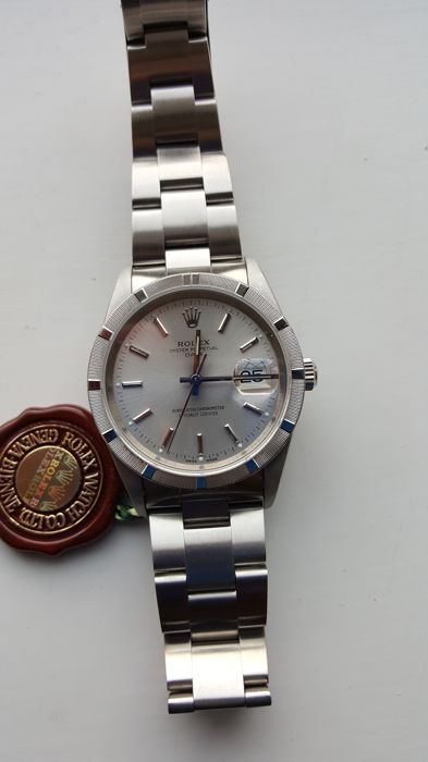 Rolex - Oyster perpetual date - 15210 - Uniszex - 2000-2010