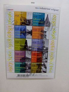 The Netherlands 1980/2002 - collection with sheetlets of 10