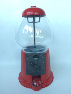 Large gumball machine - late 20th century