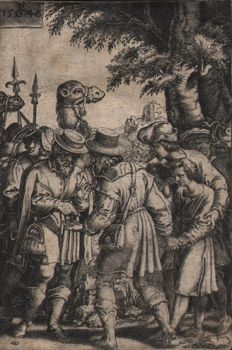 Georg Pencz (ca 1500-1550), after - Joseph sold by his brothers - 1546