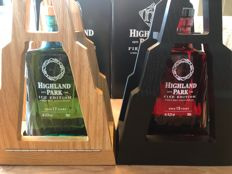2 bottles - Highland Park ICE & FIRE