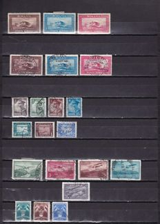 Europe 1926/1995 - Airmail. Set of stamps and complete series.