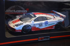 UT Models - Scale 1/18 - McLaren F1 GTR 4 th Le Mans 1996 #30 Team West competition - John Nielsen / Thomas Bscher / Peter Kox