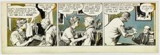 Original Artwork by Frank Godwin - Rusty Riley Daily From 18 March 1958