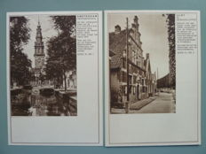 The Netherlands - Letter-cards with photo postcards, among others G. 227