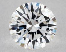 0.54 ct brilliant cut diamond E/VS1