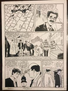 Montanari & Grassani - original plate for Dylan Dog