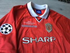 UEFA Champions League Final Winners Shirt 1999 - Beckham 7 - Size XL.