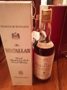 Macallan 8 years old - bottled 1980s - OB