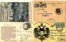 Italy - Lot of commercial and advertising postcards