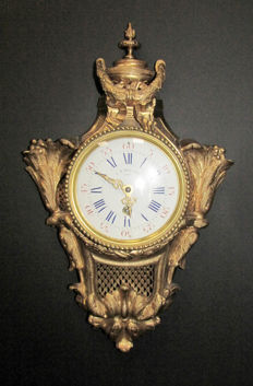 Antique French Wall Clock - 1900s