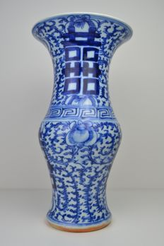 Double Happiness Yen Yen vase - China - late 19th/early 20th century