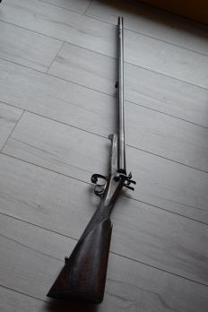 Pin fire rifle