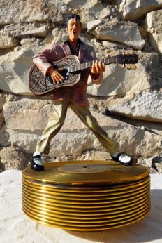 Elvis Presley - Music Box - « Hound Dog » - Number - Certificate of authenticity
