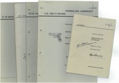 Detail lists and technical manuals