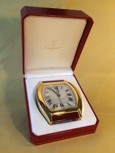 Cartier - Tortue - Table clock with alarm - Unisex - 1990-1999