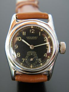 LACO SPORT - Early edition - Men's wristwatch from 1930s - Very rare.