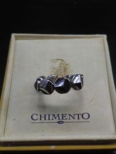 Chimento - 18 kt white gold ring, size 13.5