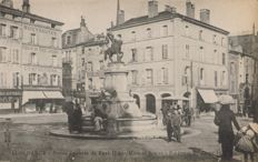 FRANCE - A good select lot of 207 old topographical postcards. Many different cities & villages