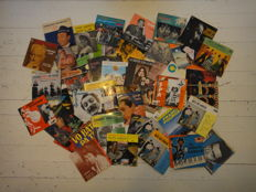Neat set 90 pieces +  picture covers singles from jazz to soul/world music-English/Spanish/French/Italian etc........