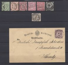 North German Postal District, Prussia and Saxony