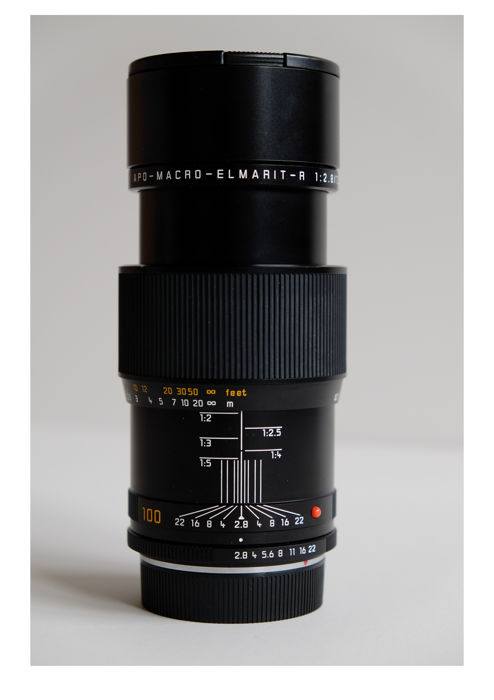 Leica APO-MACRO-ELMARIT-R 100 mm F/2.8 Manual Focus (MF) ROM Lens, 1998