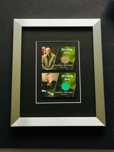 Breaking Bad - Authentic & Original Screen-Worn Piece from the Actors in a Deluxe Frame ( 20x25 cm ) - Limited Quantity
