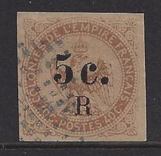 France, Colonie Guadeloupe 1891 - Ceres with overprint - Yvert 12