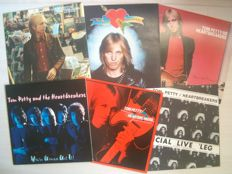 Tom Petty And The Heartbreakers - Lot with six early LP Albums