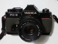 "YASHICA /ML 50mm 1:2 (1983) + flash housing ROLLEI""'Beta 3"" + Zoom 80/200 mm SIGMA diam 52"