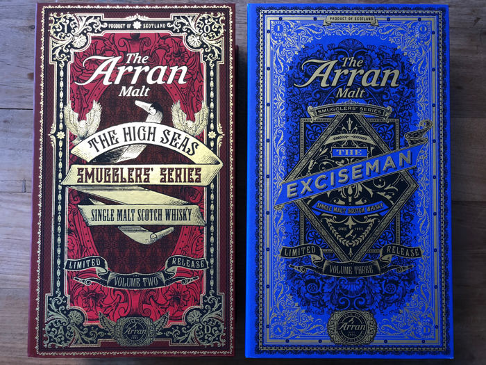 The Arran Smugglers' series Volume Two and Three