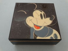 Andy Warhol Foundation - Mickey Mouse music box, screenprint with Diamond Dust on Lenox Music Board