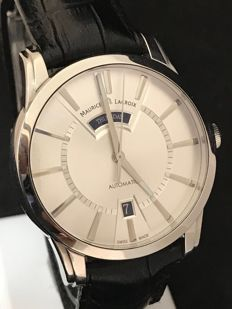 Maurice Lacroix - Pontos Day/Date Automatic - PT6158-SS001-13E - Heren - 2011-heden