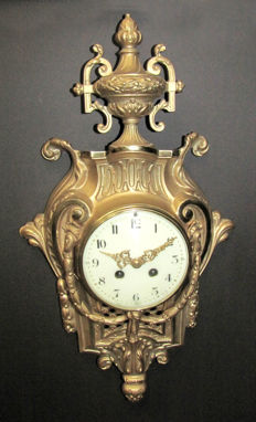 Antique Japy Freres Wall Clock - 1900s