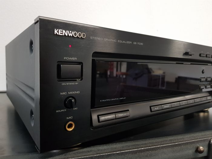 Kenwood GE-7030 Stereo Graphic Equalizer TOP OF THE LINE