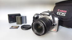 Canon 300D rebel with Canon 18-55 EF-S lens