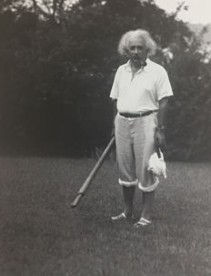 Lotte Jacobi (1896-1990) - Albert Einstein, Huntington, 1937