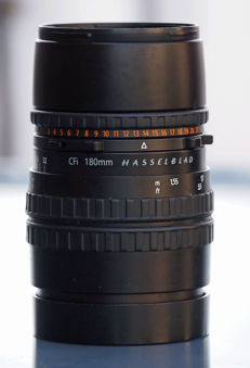 Hasselblad CFi 180mm f/4 T* Sonnar lens.