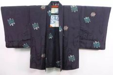 Vintage silk haori - Japan - Mid 20th century